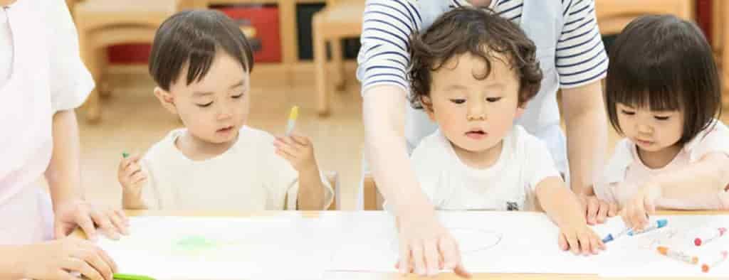 大手幼児教室と共同開発した教育プログラム